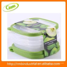 2014 neu konzipierte 3pk Küchenartikel Lebensmittel / Obst Lagerung Container