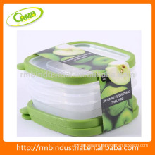 2014 new designed 3pk Kitchenware food/ Fruit storage container