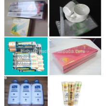Máquina de embalar de película de encolamento quente máquina de embalagem de plástico shrinking e embalagem de pe automática BS400 12