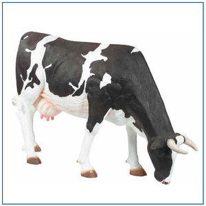 Farm Decoration Outdoor Life Size Resin Cow Statue