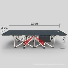 Hot selling office supplies popular folding single bed for bedroom break on sale