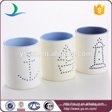 Holiday ceramic modern candleholder gifts wholesale