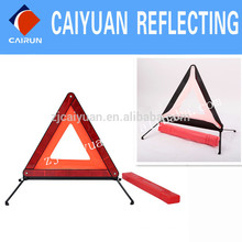 Voiture sécurité du Triangle de sécurité AVERTISSEMENT CY réflecteur signer réfléchissant Safe 26 cm * 26 cm * 26 cm