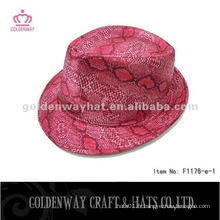 Fashion Red Fedora Hats Wholesale
