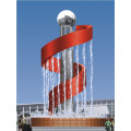 Zhejiang manufacturer stainless steel modern sculpture art sculpture outdoor sculpture