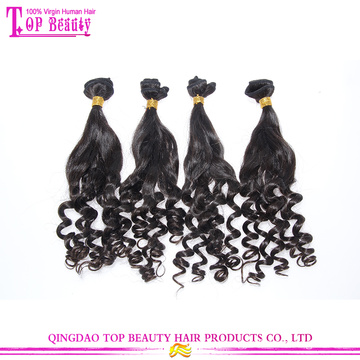 Hair products For 2016 hot selling indian aunty funmi hair bouncy curls