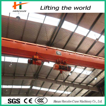 Universal Remote Control Bridge Crane Top Running Two Single Girder 3 Ton