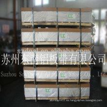 Plancha de aluminio del final del molino de la serie de la alta calidad 1000 para el material de la aleta