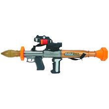 Игрушечный пистолет с выбросом проекции на юг и легкие ракеты