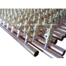 Copper Manifold with Ball Valve for Air Conditioning