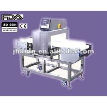 Detector de metales para papel de aluminio Alimentos de embalaje