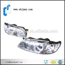 Hochwertiger preiswertester Modellbus cnc Plastikprototyp