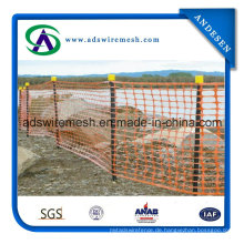 4'x50 'Orange Winter Barrier Zaun