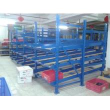 100KG steel structure carton flow shelving for logistic dis