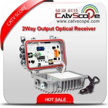 Fornecedor profissional Csp-ou-860mbn campo / exterior 2way saída fibra óptica receptor / nó