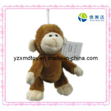 New Arrival Plush Macaco Chaveiro Toy
