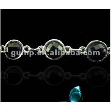Correas de metal sujetador de diamante (GBRD0174)