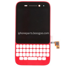 LCD Screen with Frame for BlackBerry Q5 Red