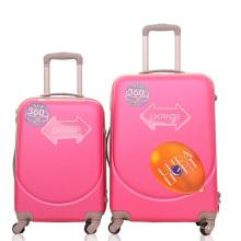 АБС Жесткий футляр для путешествий тележка для багажа чемодан