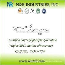 Suplementos Nootrópicos Alfa GPC 50% Glicerofosfato de Colina CAS 28319-77-9