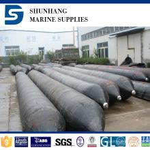 Airbag neumático de goma del barco del certificado de CCS exportado al astillero de Indonesia
