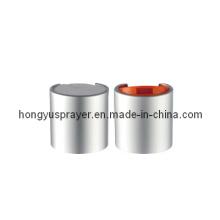 Hot Sale Sliver plástico Cap para garrafas (HY-Q04B)