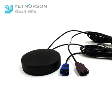 Yetnorson GPS GSM Combined Antenna with FAKRA Connector