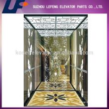 Titanium Elevator Cabin