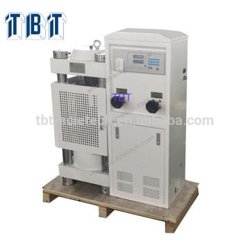 Affichage numérique de 2000KN T-BOTA dans la grande machine d'essai hydraulique de compression d'espace vertical de vis