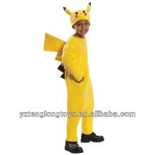 Abenteuer Zeit Karneval Pikachu Maskottchen Kostüm