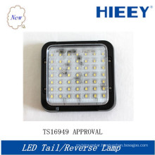 LED Square tail reverse lamp ,high quality 10-30V led tail light for big trucks