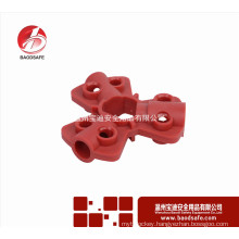 Wenzhou BAODSAFE Pneumatic quick-disconnect lockout Red colour BDS-Q8601
