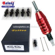 Solong Hohe Qualität 25mm 1 Zoll Tattoo Tubes Aluminium Sterile Tattoo Maschine Grip