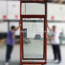 awning windows sizes of american SGCC tempered glass Imported Oak Wood casement window with light