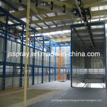 Professional Electrostatic Coating Machine Line for Bus