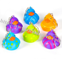 Plastic Toys of Pattern Ducky Keychain