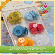 Nuevo producto plástico botón, botones de plástico
