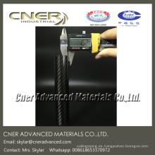 31 x 27 mm tubos redondos de fusiles de fibra de carbono para buceo