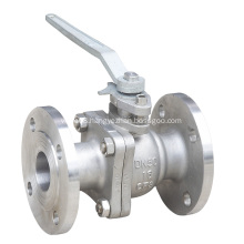 Lever Opearted Floating Ball Valve