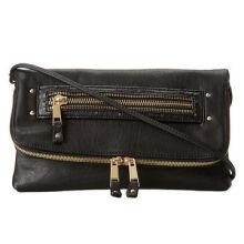 Ladies' Fashion Synthetic Leather Crossbody Bag, 100% PU