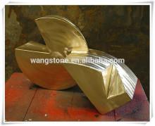 Fine art abstract statue bronze sculpture
