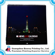 wholesale custom new design wall calendar 2018