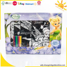 Tinkerbell Velvet Art Set