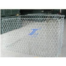 Cestas hexagonales de Gabion de la malla de alambre 2X1X1m