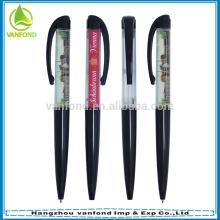 Alta qualidade personalizado logotipo flutuante caneta promocional por atacado
