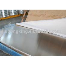 Pre-stretching aluminum plate 7075