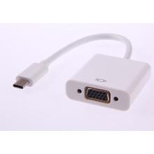 Mais novo 2015 tipo C USB 3.1 para adaptador VGA