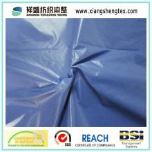 Tissu imperméable en nylon en taffetas pour veste décontractée (380T ou 400T)