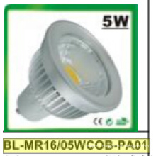 5W Dimmable/Non-Dimmable MR16 COB LED Spotlight