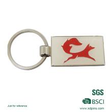 Kundenspezifisches Metallhartes Emaille Keychain mit Nickelüberzug